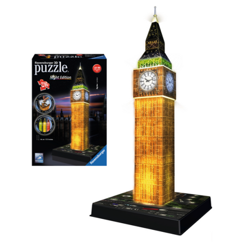 3D Puzzle Big Ben Night Edition 216 τεμ. (12588)