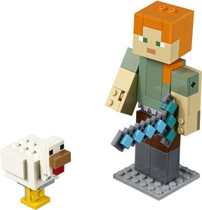 LEGO Minecraft™ Alex BigFig with Chicken (21149)