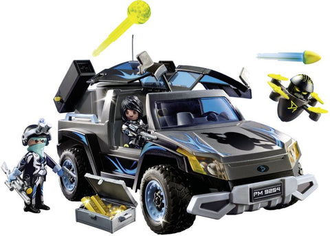 Playmobil Top Agents Όχημα Pickup του Dr. Drone (9254)