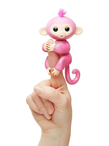 FINGERLINGS MONKEYS GLITTER ROSE (3700)
