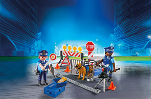 Playmobil City Action Οδόφραγμα Αστυνομίας (6924)