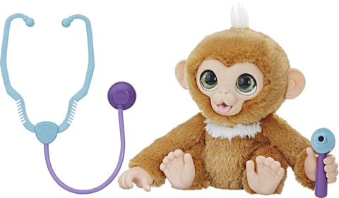 Furreal Get Better Monkey CHECK UP ZANDI (E0367)