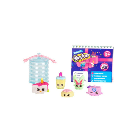 Shopkins S7 Party 5Τμχ Σε Καρτέλα (HPK80010)