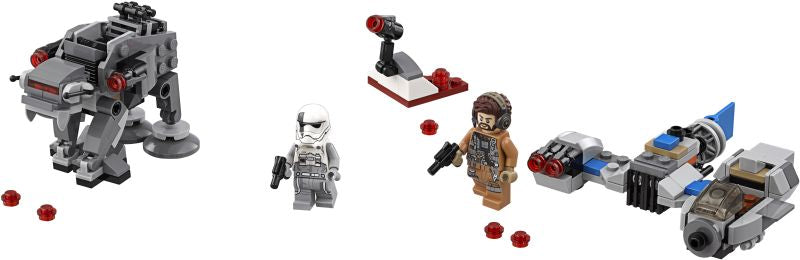 Lego Star Wars Ski Speeder™ vs. First Order Walker™ Mic (75195)