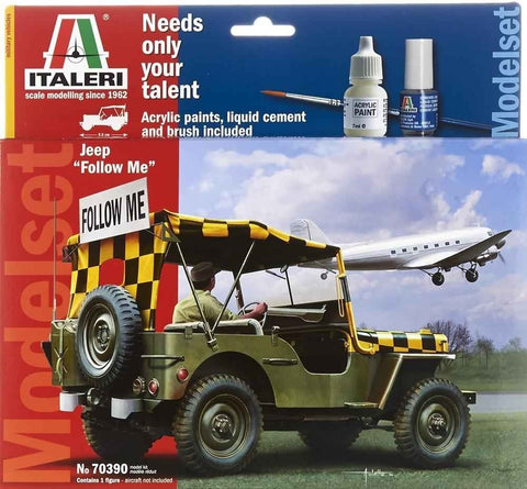 "Italeri Jeep ""Follow Me"" (ITAL70390)"