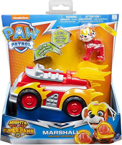 Paw Patrol Mighty Pups Super Paws - Marshall Deluxe Vehicle (20115476)