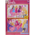 Clementoni Παζλ 2X60 Super Color Barbie Scecial Collection (1200-07108)