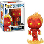Funko POP! Marvel Fantastic Four - Human Torch #559 Bobble-Head Vinyl Figure (44987)