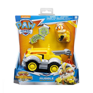 Paw Patrol Mighty Pups Super Paws - Rubble Deluxe Vehicle (20115477)