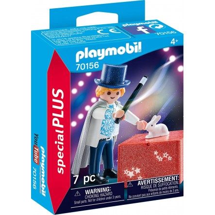 Playmobil Special Plus Ταχυδακτυλουργός (70156)