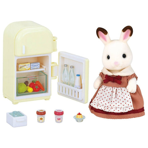 Sylvanian Families: Chocolate Rabbit Mother Set (Fridge) (5014)