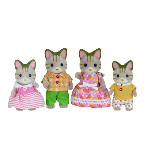 Sylvanian Families: Striped Cat Family (5180)