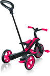 Globber Τρίκυκλο Trike Explorer 4in1-Red (632-102)