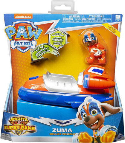 Paw Patrol Mighty Pups Super Paws - Zuma Deluxe Vehicle (20115480)