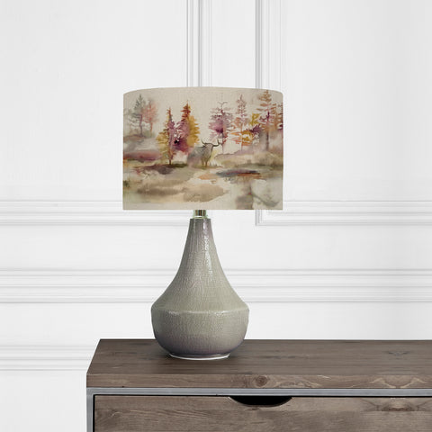 Voyage Maison Agri Smoke Table Lamp and Caledonian Forest Shade
