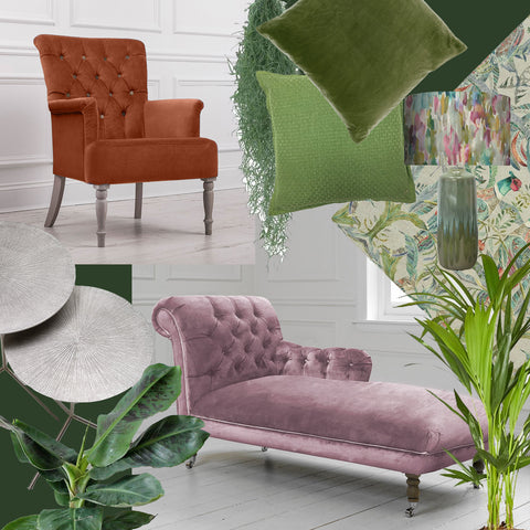 How to Style Velvet Chairs: In a Contemporary Home