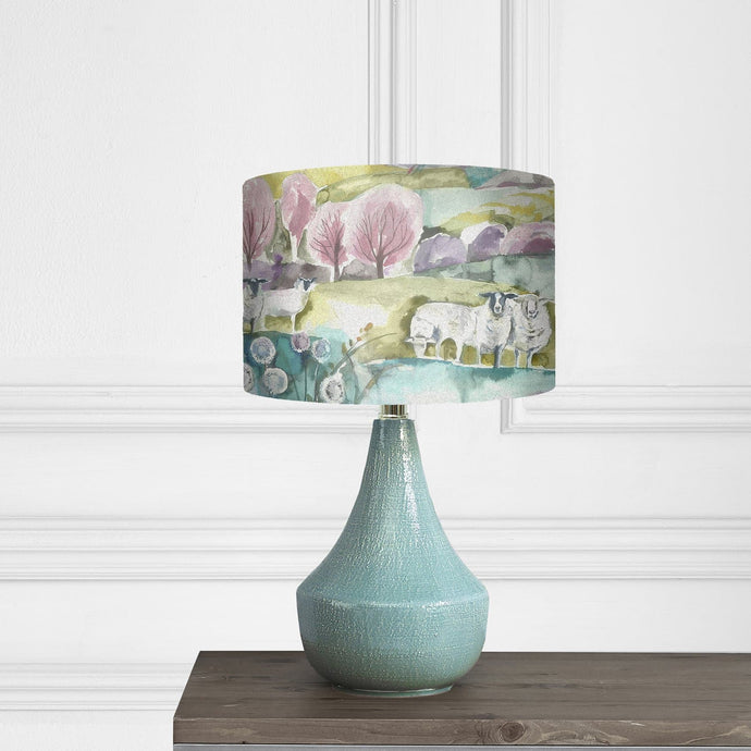 Voyage Agri Table Lamp With Buttermere Shade (4433194090554)
