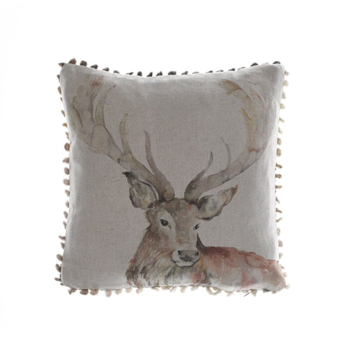 Gregor the Stag Arthouse Cushion (4389839765562)