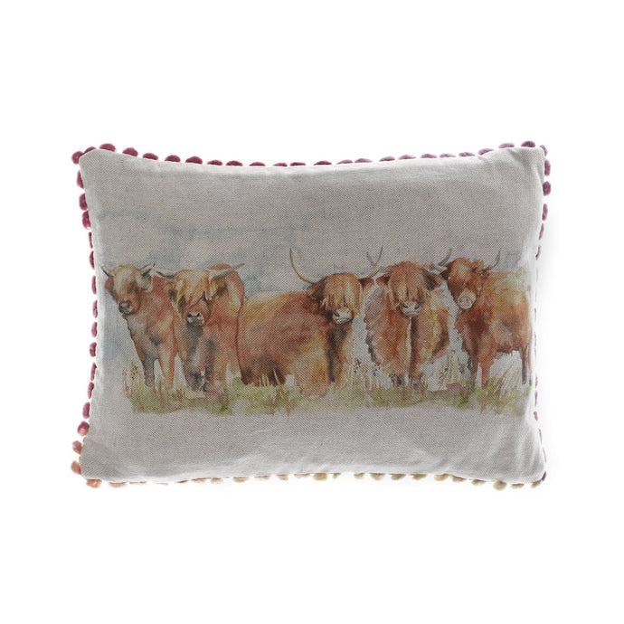 Highland Cattle Arthouse Cushion