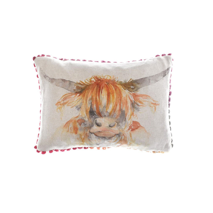 Highland Coo Arthouse Cushion (4369197596730)