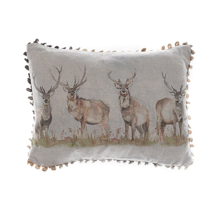 Mooreland Stag Arthouse Cushion (4402503778362)