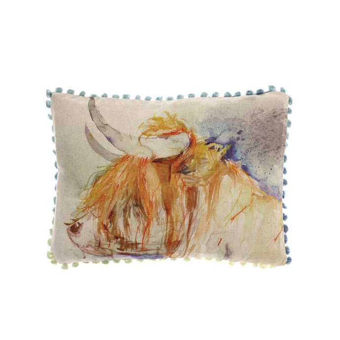 Harry Highland Cow Arthouse Cushion (4389840388154)