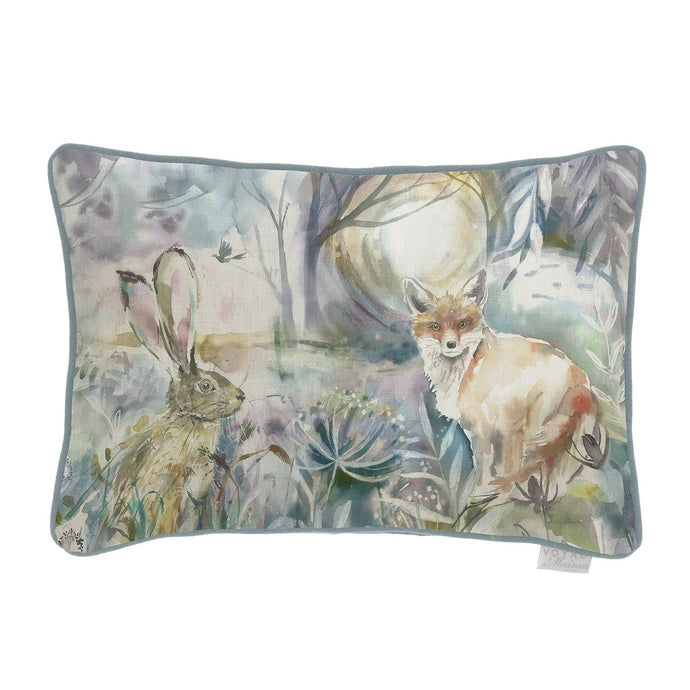 Fox and Hare 25x35 Arthouse Cushion