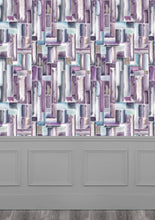 Load image into Gallery viewer, Albers Amethyst Wallpaper (4435085918266)