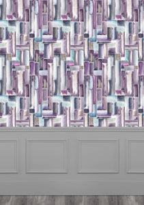 Albers Amethyst Wallpaper (4435085918266)