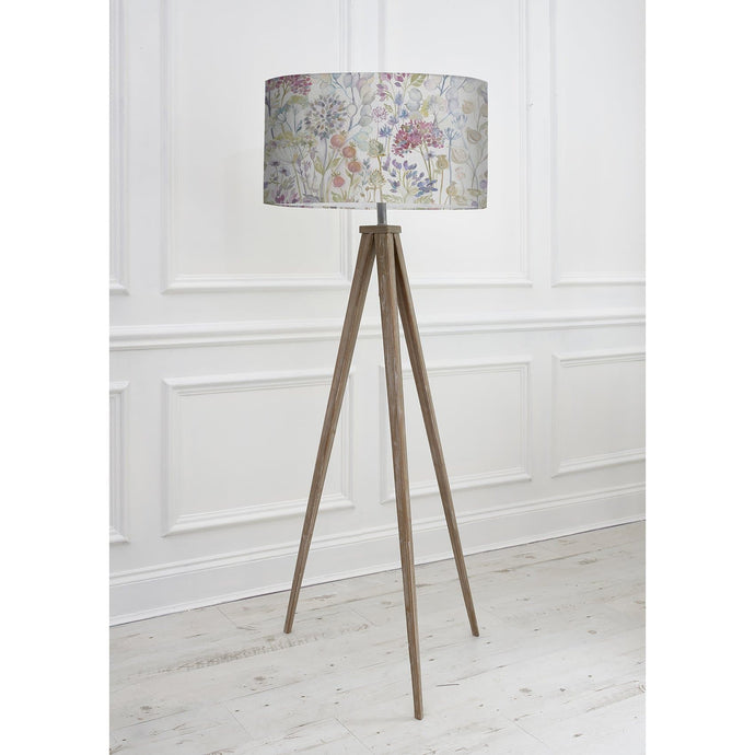 Voyage Aratus Floor Lamp with Hedgerow Shade (4468174749754)