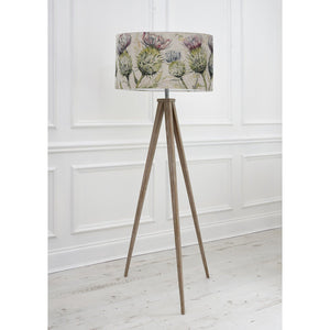 Voyage Aratus Floor Lamp with Thistle Glen Shade (4468175077434)