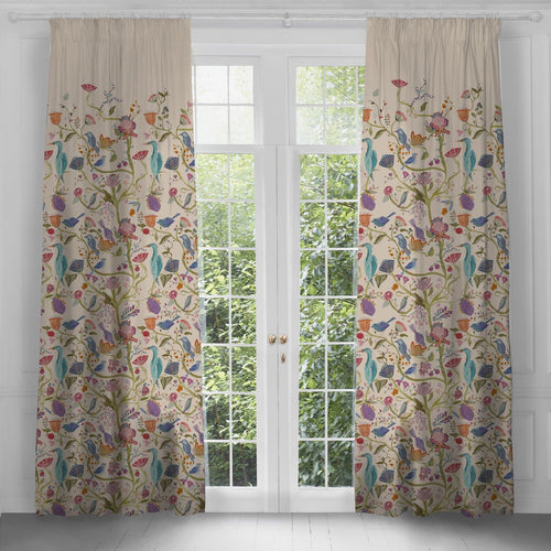 Lindu Print Extra Long Curtains (4436490518586)