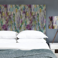 Load image into Gallery viewer, Grace Headboard with Azima Indigo Design (4471191896122)