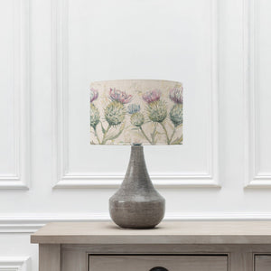 Thistle Glen Shade with Agri Table Lamp