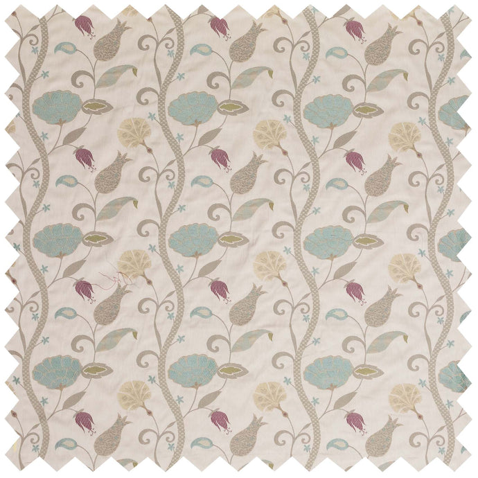 Babylon Small Duck Egg Jacquard - Fabric by the Metre