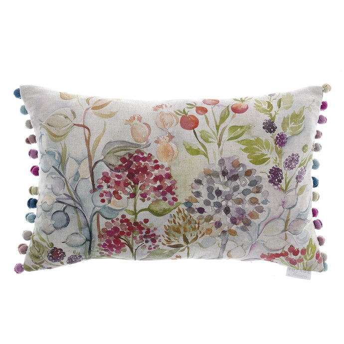 40x60 Cushion with Hedgerow Linen Design