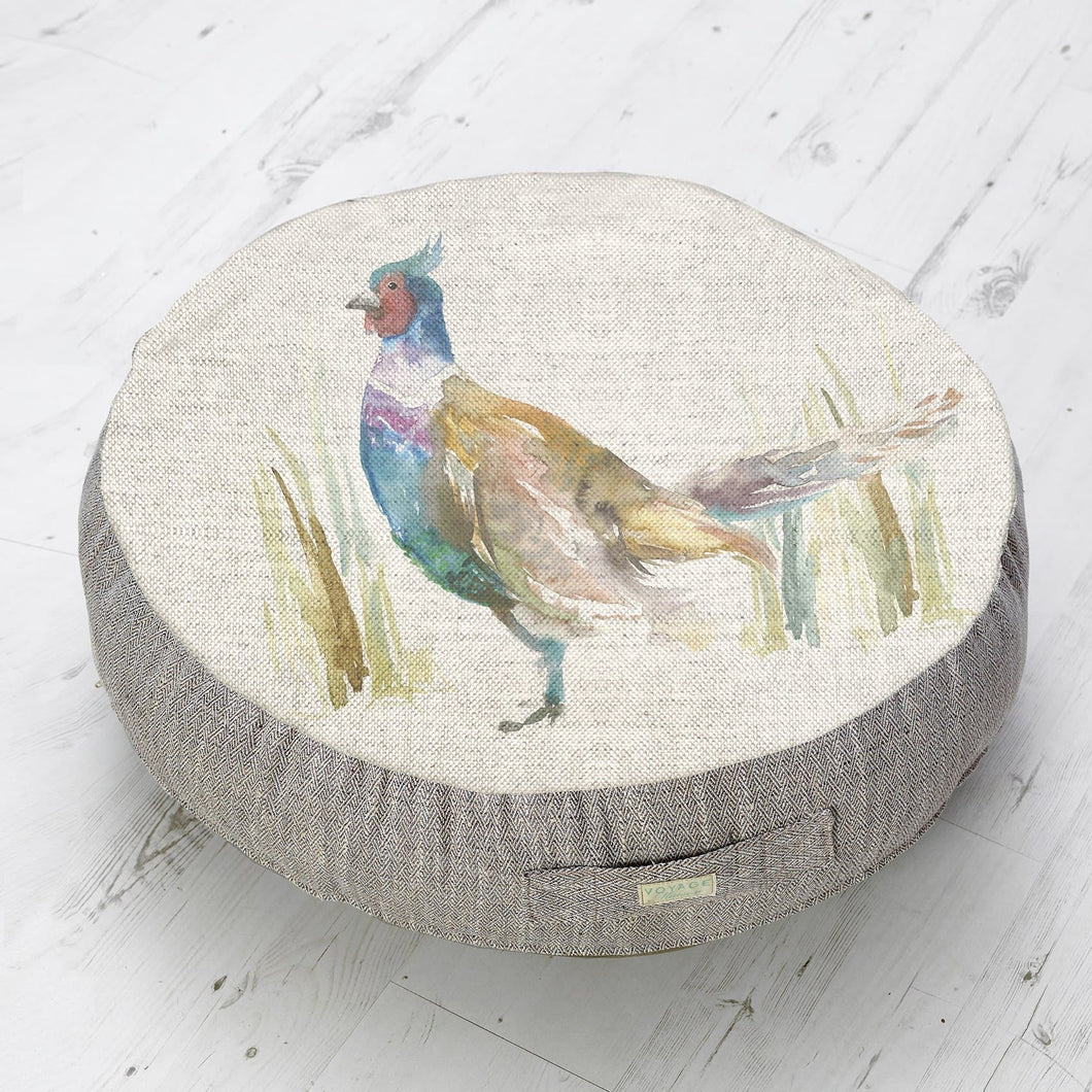 Mr Pheasant Medium Floor Cushion
