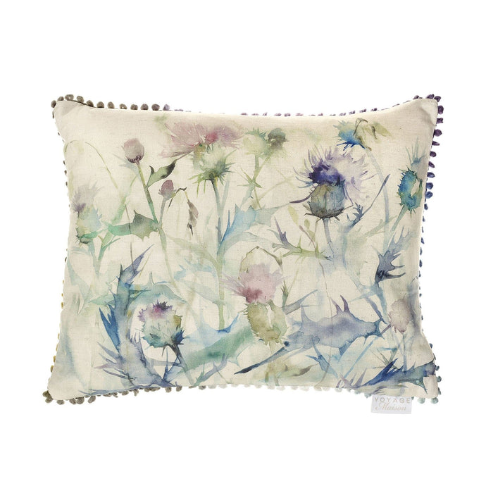 Damson Bristle Thistle Cushion (4393363701818)