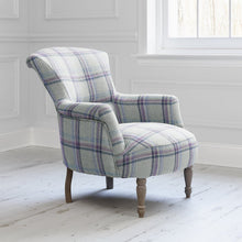 Load image into Gallery viewer, Camilla chair with Tavistock Heather fabric