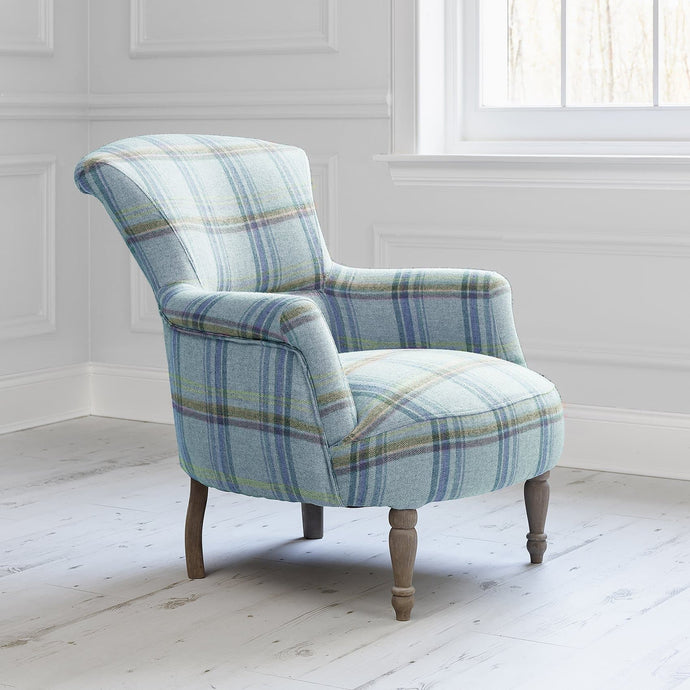 Camilla chair with Tavistock Orchard fabric