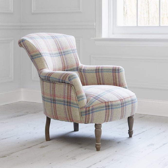 Camilla chair with Tavistock Pomegranate fabric