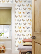 Load image into Gallery viewer, Chook Chook Linen - Wallpaper