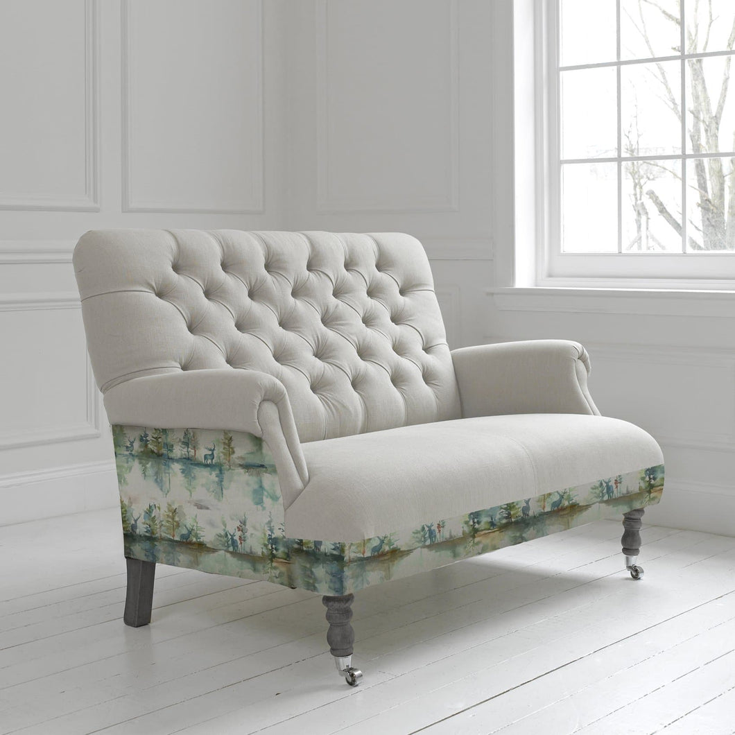 Cornelius Two Seater Soft in Wilderness Topaz Design