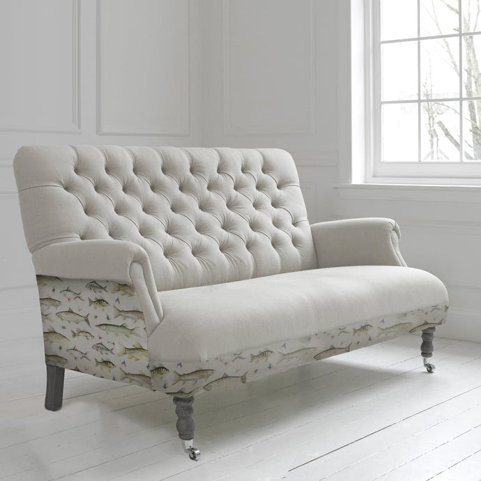 Cornelius Three Seater Soft in Riverfish Design