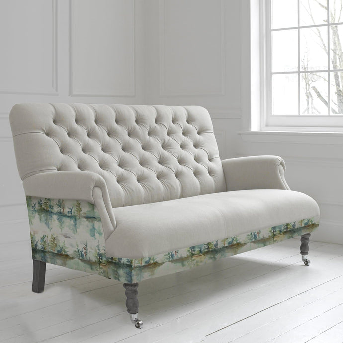 Cornelius Three Seater Soft in Wilderness Topaz Design
