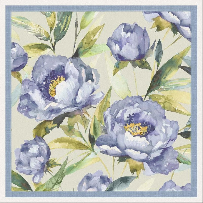 Voyage Earnley Bluebell - Set Of 4 - Cushion Panel