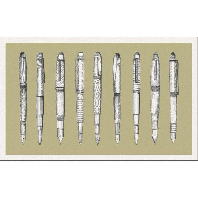 Voyage Pens - Set Of 8 - Cushion Panel