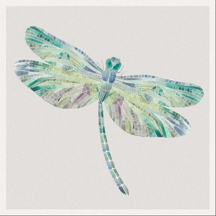 Voyage Dragonfly Skylark - Set Of 4 - Cushion Panel
