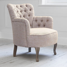 Load image into Gallery viewer, Dora Chair in Meridian Clementine Fabric (4543411585082)