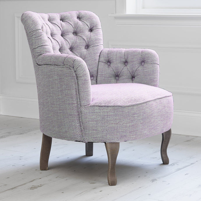 Dora Chair in Meridian Orchid Fabric